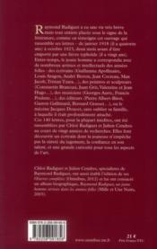 Lettres retrouvées - 4ème de couverture - Format classique