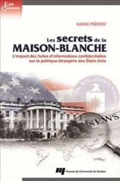 Les secrets de la Maison-Blanche - Couverture - Format classique