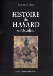 Histoire du hasard en occident - Couverture - Format classique