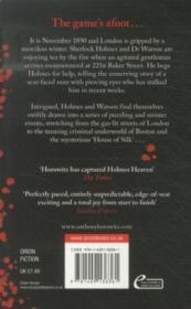 The House Of Silk - 4ème de couverture - Format classique