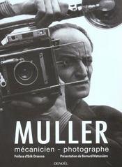 Muller, Mecanicien Photographe - Intérieur - Format classique
