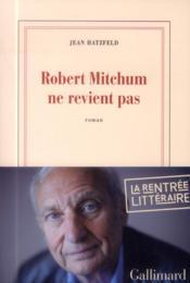 Robert Mitchum ne revient pas - Couverture - Format classique
