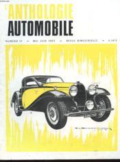 L'Anthologie De L'Automobile N°17 - Couverture - Format classique