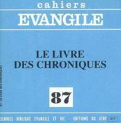 Livre Des Chroniques (Le) No 87 - Couverture - Format classique