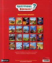 QUESTIONS REPONSES 7+ ; les romains - 4ème de couverture - Format classique