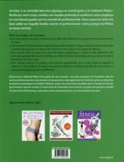 La méthode pilates pour tous ; approche anatomique illustrée - 4ème de couverture - Format classique