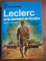 Leclerc et le serment de Koufra. - Couverture - Format classique