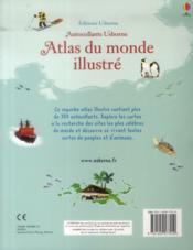 Atlas du monde illustré - 4ème de couverture - Format classique