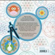 Dessiner avec un compas - 4ème de couverture - Format classique