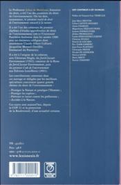 Mélanges en l'honneur de Jehan de Malafosse - 4ème de couverture - Format classique
