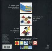 Puzzles 3d - formes et sculptures a creer - 4ème de couverture - Format classique