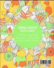 Pensées vitaminées à colorier - 4ème de couverture - Format classique