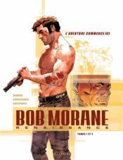 Bob Morane - renaissance ; COFFRET T.1 ET T.2 - Couverture - Format classique