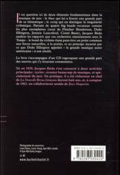 Une civilisation du rythme - 4ème de couverture - Format classique