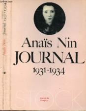 Journal 1931 - 1934 - Couverture - Format classique