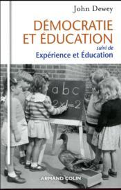 Démocratie et éducation ; expérience et éducation - Couverture - Format classique
