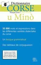 Dictionnaire corse u mino - Couverture - Format classique