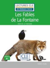 FLE ; les fables de La Fontaine ; B1 (édition 2019) - Couverture - Format classique