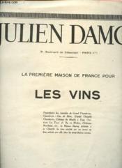 Catalogue Julien Damoy - La Première maison de France pour les vins - Couverture - Format classique