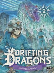Drifting dragons T.2 - Couverture - Format classique
