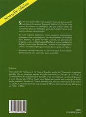 Chevreuils d'hier et d'aujourd (ned) - 4ème de couverture - Format classique