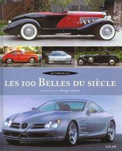 Automobile les 100 belles du siecle - Intérieur - Format classique
