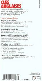 L'anglais du sport - volume 1 - 4ème de couverture - Format classique