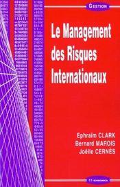 Le management des risques internationaux - Intérieur - Format classique