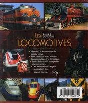 Lexiguide des locomotives - 4ème de couverture - Format classique