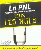 La programmation neuro-linguistique pour les nuls - Intérieur - Format classique