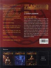 Flamingo t.3 ; le dernier légionnaire - 4ème de couverture - Format classique