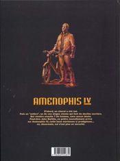 Amenophis IV t.1 ; Demy - 4ème de couverture - Format classique