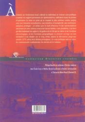 La Voix Et Le Geste. Une Approche Culturelle De La Violence Socio-Pol Itique - 4ème de couverture - Format classique