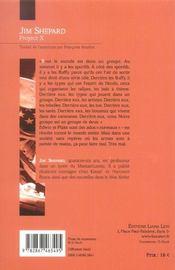 Project x - 4ème de couverture - Format classique