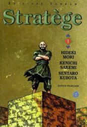 Stratege -tome 01 - Couverture - Format classique