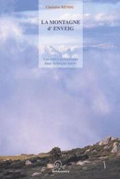 La montagne d'Enveig ; une estive pyrénéenne dans la longue durée - Couverture - Format classique