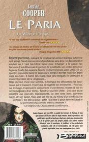 Le maitre du temps t.2 ; le paria - 4ème de couverture - Format classique