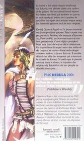 Saga De L'Empire Skolien 3 - Quantum Rose - 4ème de couverture - Format classique