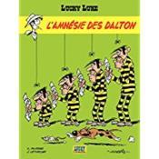 Lucky Luke T.60 ; l'amnésie des Dalton - Couverture - Format classique
