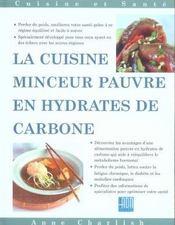 Cuisine minceur reduite en hydrate de carbone - Intérieur - Format classique