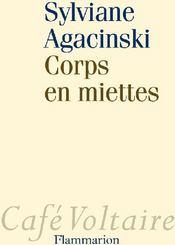 Corps en miettes - Couverture - Format classique