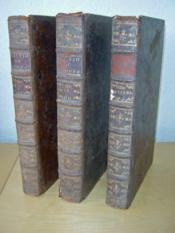 Dictionnaire Universel de Commerce, d'Histoire Naturelle & des Arts & Métiers. (3 Tomes ) Tome I : A - C ; Tome II : D - O ; Tome III : P - Z - Couverture - Format classique