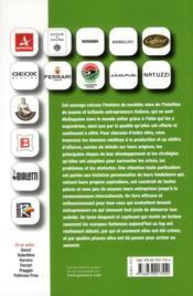 Comment les grandes marques italienne ont conquis le marché mondial ; l'histoire de made in Italy - 4ème de couverture - Format classique