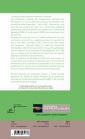Dix questions à Bernard Decomps - 4ème de couverture - Format classique