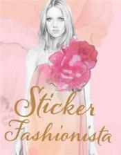 Sticker Fashionista /Anglais - Couverture - Format classique