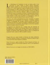 La bibliothèque de l'abbaye cistercienne de Vauluisan ; histoire et inventaires - 4ème de couverture - Format classique