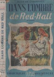 Dans l'ombre de Red-Hall - Couverture - Format classique