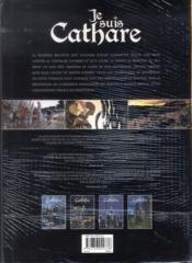 Je suis cathare ; COFFRET T.1 A T.4 - 4ème de couverture - Format classique