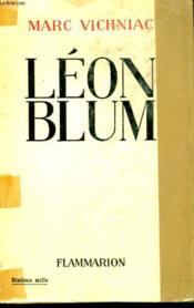 Leon Blum. - Couverture - Format classique