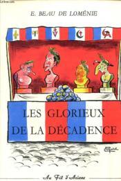 Les Glorieux De La Decadence - Couverture - Format classique